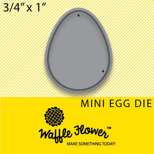 Waffle Flower MINI EGG DIE Set 310064 Preview Image
