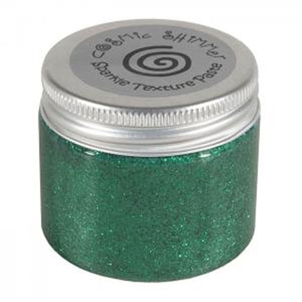 Cosmic Shimmer EMERALD Sparkle Texture Paste 907687* Preview Image