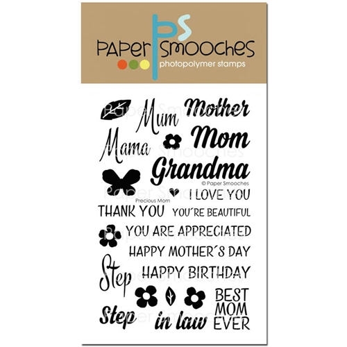 Paper Smooches PRECIOUS MOM Clear Stamps M1S265 Preview Image