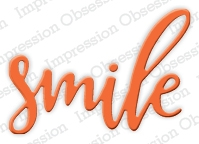 Impression Obsession Steel Dies SMILE Die Set DIE378-E Preview Image