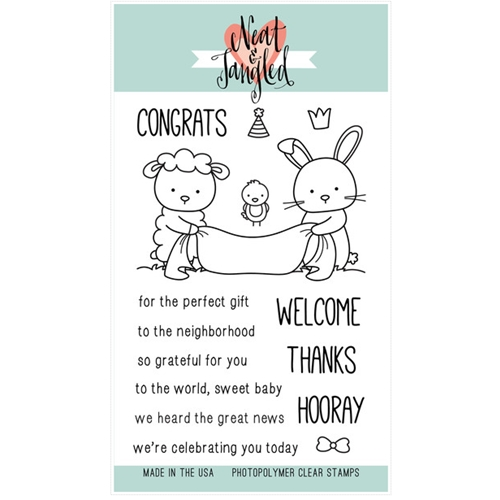 Neat and Tangled ITTY BITTY WELCOMING COMMITTEE Clear Stamp Set NAT152 Preview Image