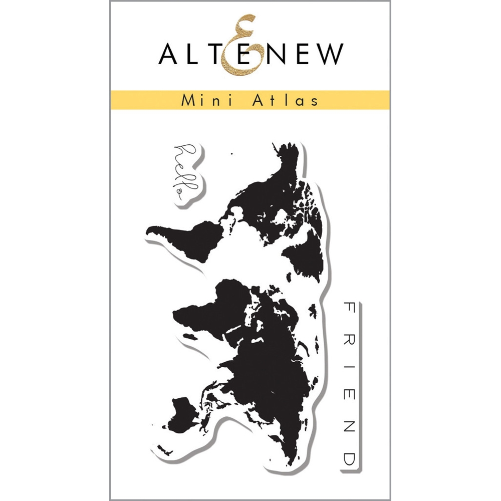 Altenew MINI ATLAS Clear Stamp Set ALT1123 zoom image