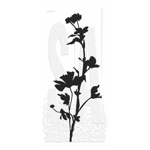 Tim Holtz Rubber Stamp WILDFLOWER 4 Stampers Anonymous P5-2814* Preview Image