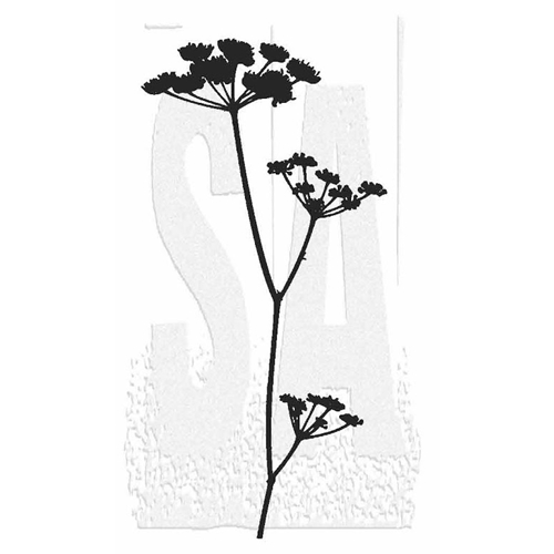 Tim Holtz Rubber Stamp WILDFLOWER 1 Stampers Anonymous P2-2812* Preview Image