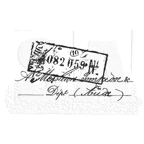 Tim Holtz Rubber Stamp MARKETING Stampers Anonymous J2-2819 Preview Image