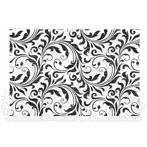 Tim Holtz Rubber Stamp FLOURISH Stampers Anonymous X1-2826 Preview Image