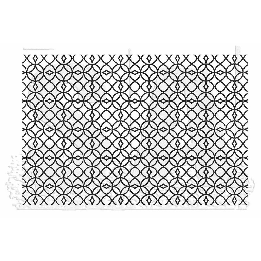 Tim Holtz Rubber Stamp LATTICE Stampers Anonymous X1-2827* zoom image