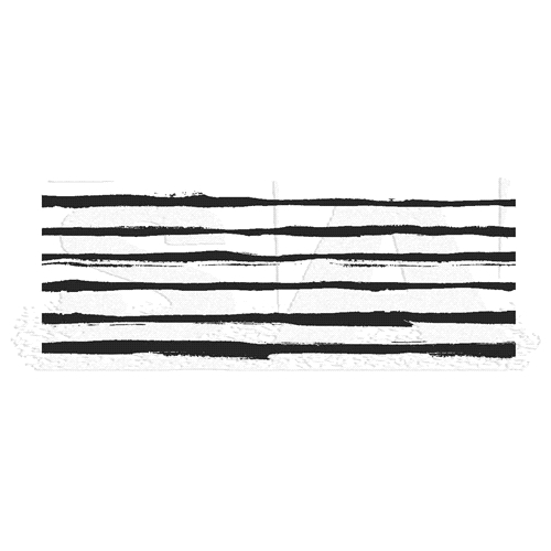Tim Holtz Rubber Stamp MEDIA STRIPES Stampers Anonymous U5-2837 Preview Image