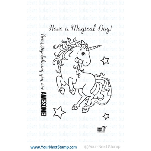 Your Next Stamp MAGICAL UNICORN Clear CYNS240 Preview Image