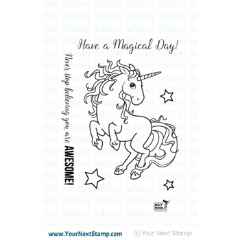 Your Next Stamp MAGICAL UNICORN Clear CYNS240