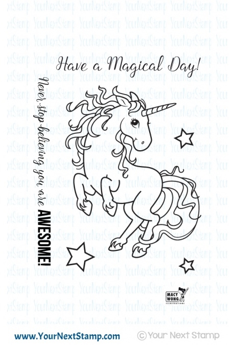 Your Next Stamp MAGICAL UNICORN Clear CYNS240 zoom image