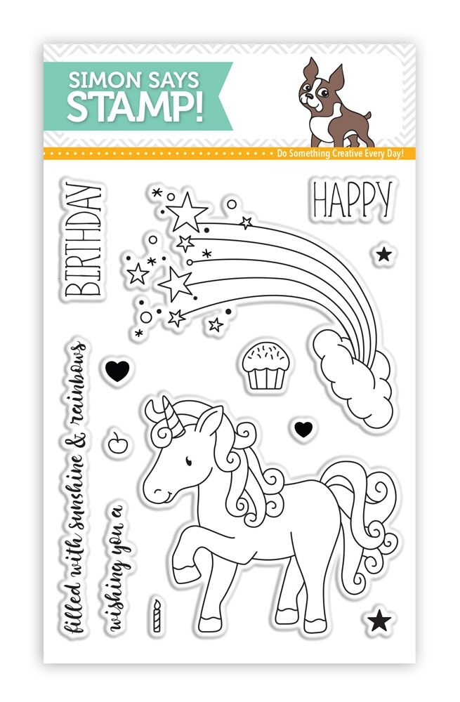 Simon Says Clear Stamps MAGICAL BIRTHDAY SSS101612 zoom image