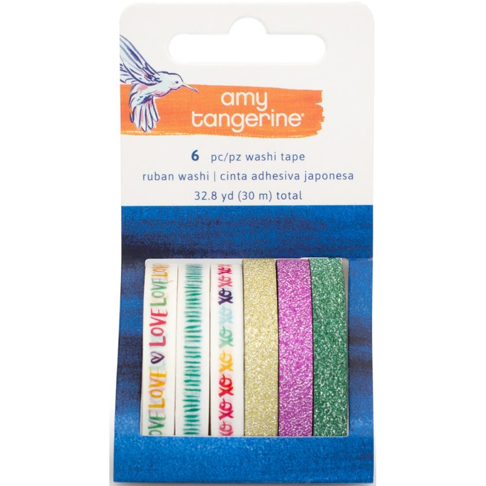 American Crafts Amy Tangerine WASHI TAPE Better Together 373994 zoom image