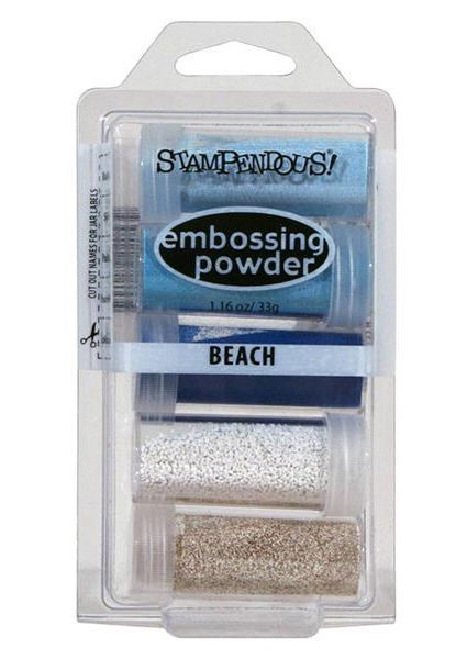 Stampendous BEACH Embossing Powder Kit EK22 zoom image