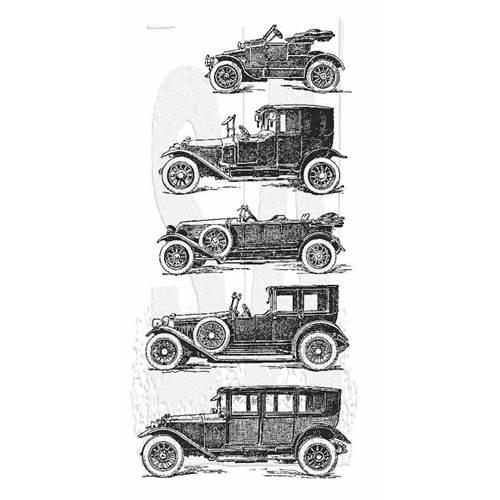 Tim Holtz Rubber Stamp AUTO COLLECTION Stampers Anonymous P2-2853 Preview Image