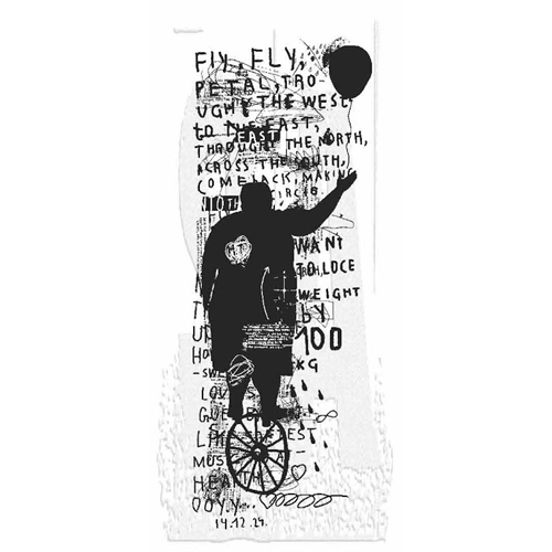 Tim Holtz Rubber Stamp FLY FLY P3-2842* Preview Image