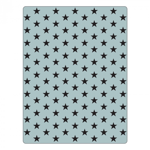 Tim Holtz Sizzix TINY STAR Texture Fades Embossing Folder 661368 Preview Image