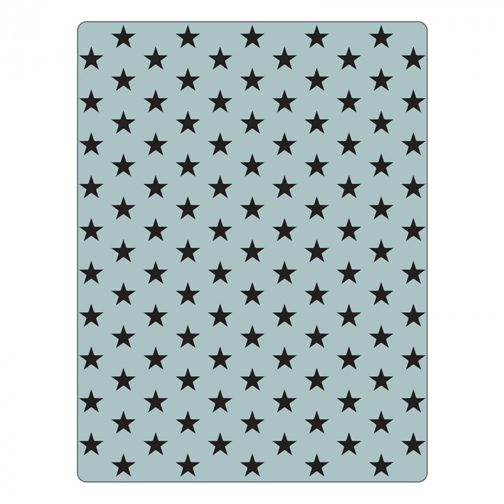Tim Holtz Sizzix TINY STAR Texture Fades Embossing Folder 661368 zoom image