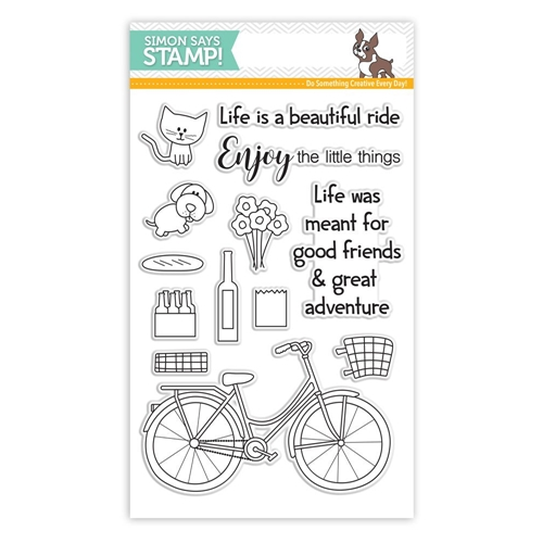 Simon Says Clear Stamps BEAUTIFUL RIDE SSS101604 My Favorite * Preview Image
