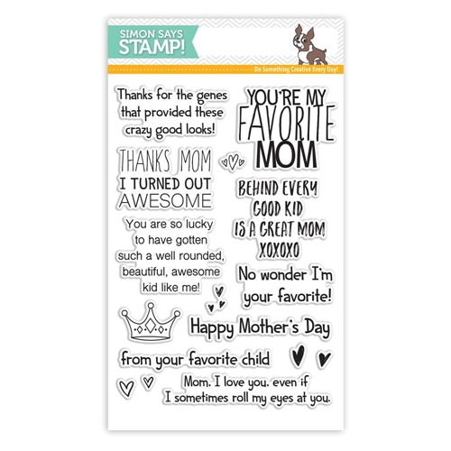 Simon Says Clear Stamps MOTHERS DAY ZINGERS SSS101606 My Favorite Preview Image