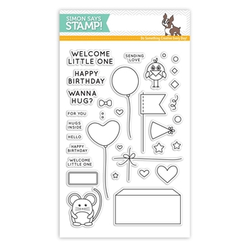 Simon Says Clear Stamps CUDDLY CRITTERS ACCESSORIES SSS101611 *