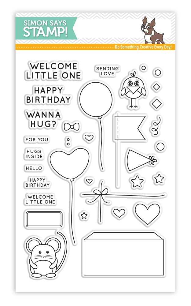 Simon Says Clear Stamps CUDDLY CRITTERS ACCESSORIES SSS101611 * zoom image