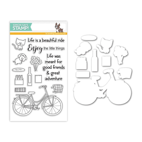 Simon Says Stamps and Dies BEAUTIFUL RIDE Set252BR My Favorite Preview Image