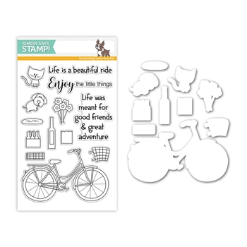 Simon Says Stamps and Dies BEAUTIFUL RIDE Set252BR My Favorite