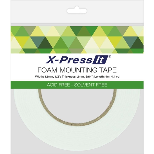 Copic X-Press It Double Sided FOAM 1/2 Inch Mounting TAPE FT12 Preview Image