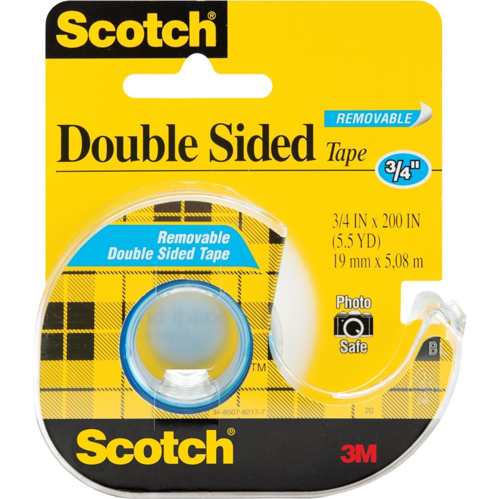 3M Scotch REMOVABLE Double Sided Tape 238 zoom image