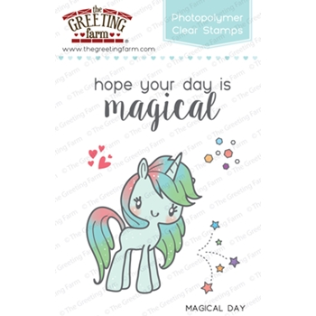 The Greeting Farm MAGICAL DAY Clear Stamps TGF236