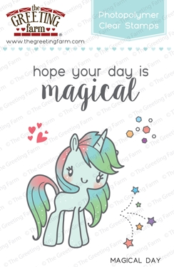 The Greeting Farm MAGICAL DAY Clear Stamps TGF236 zoom image