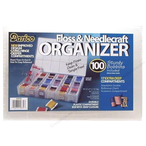 Darice FLOSS AND NEEDLE CRAFT Organizer DCB50 Preview Image