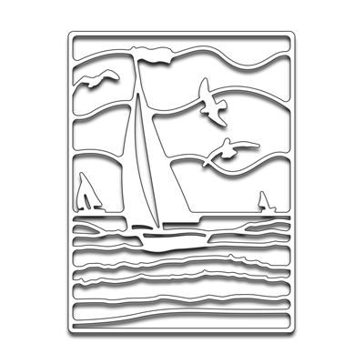 Penny Black OUT TO SEA Think Metal Creative Dies 51 225 Preview Image
