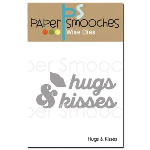 Paper Smooches HUGS AND KISSES Wise Dies M2D323 Preview Image