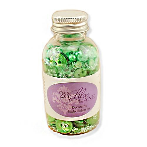 28 Lilac Lane O' CHRISTMAS TREE Embellishment Bottle LL206* Preview Image