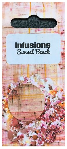 Paper Artsy SUNSET BEACH Infusions Colored Stain CS07 zoom image