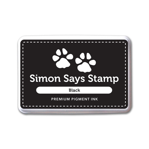 Simon Says Stamp Pigment Ink Pad BLACK INK067 * Preview Image