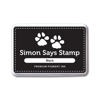 Simon Says Stamp Pigment Ink Pad BLACK INK067 *