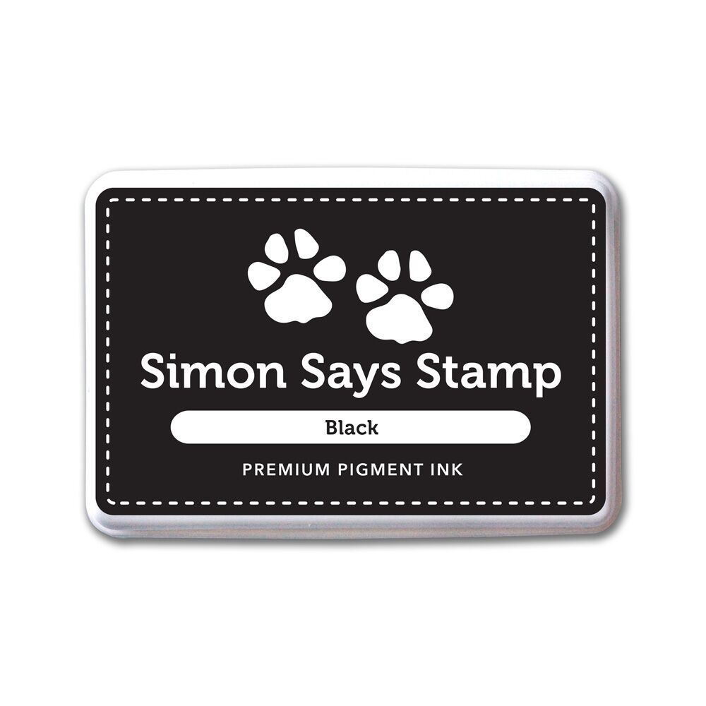 Simon Says Stamp Pigment Ink Pad BLACK INK067 zoom image