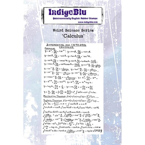 IndigoBlu Cling Stamp CALCULUS Rubber IND0237* Preview Image