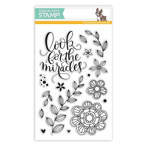 Simon Says Clear Stamps LOOK FOR THE MIRACLES SSS101607 * Preview Image