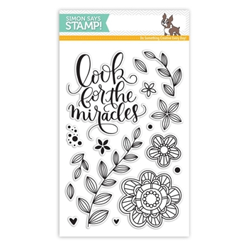 Simon Says Clear Stamps LOOK FOR THE MIRACLES SSS101607 *