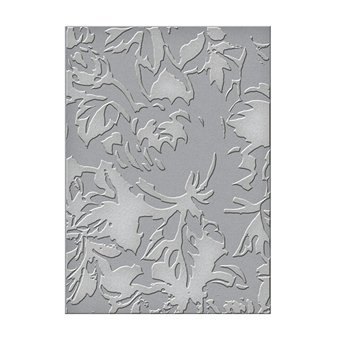 SEL-004 Spellbinders Tammy Tutterow ROSE TABLECLOTH Embossing Folder zoom image
