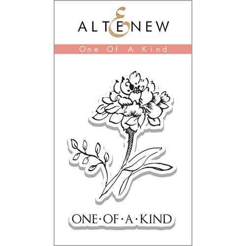 Altenew ONE OF A KIND Clear Stamp Set ALT1127* Preview Image