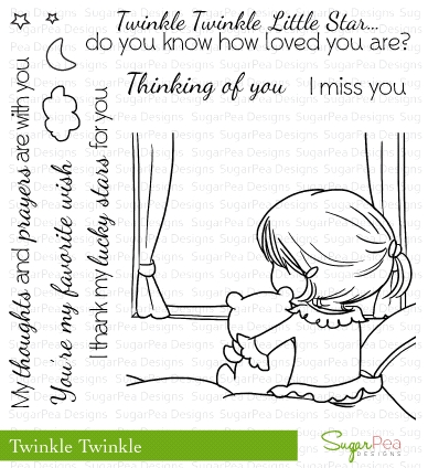 SugarPea Designs TWINKLE TWINKLE Clear Stamp Set SPD00119 Preview Image