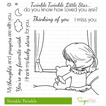 SugarPea Designs TWINKLE TWINKLE Clear Stamp Set SPD00119