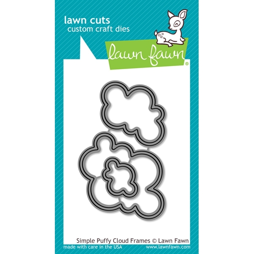 Lawn Fawn SIMPLE PUFFY CLOUD FRAMES Lawn Cuts Dies LF1203 Preview Image