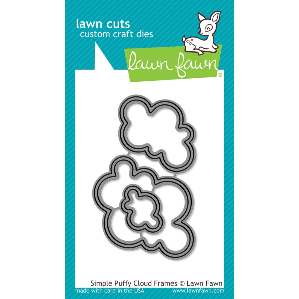 Lawn Fawn SIMPLE PUFFY CLOUD FRAMES Lawn Cuts Dies LF1203 zoom image