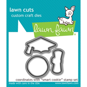 Lawn Fawn SMART COOKIE Lawn Cuts Dies LF1176